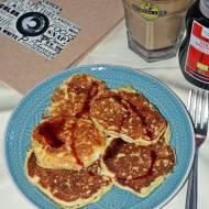 Proteinowo - ryżowe pancakes z brzoskwinią