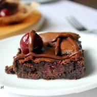 Ciasto na niedzielę – szybkie i łatwe #2 Brownie z wiśniami