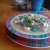 zupa grzybowa  ze świeżych grzybów -wegetariańska