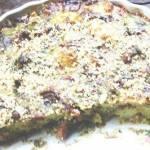 Frittata z młodymi ziemniakami, kurkami i brokułem