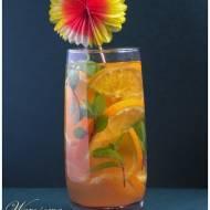 Lemoniada pomarańczowo- miętowa