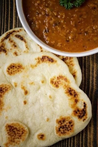 Przepis Na Chlebki Naan Czyli Indyjskie Chlebki Z Patelni