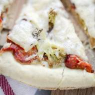 Pizza z brokułem