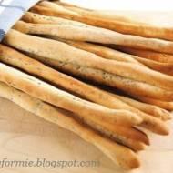 paluszki chlebowe - grissini