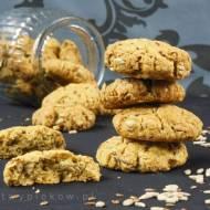 Ciasteczka żytnio-owsiane z ziarnami