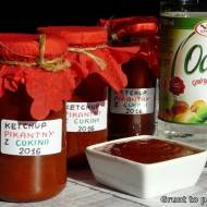 Pikantny ketchup z cukinii