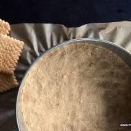 Spód do ciasta z herbatników