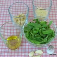 Zielone pesto z bazylii