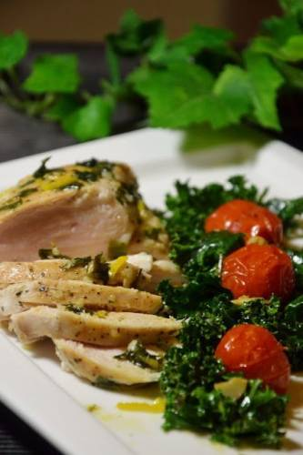 Filet z kurczaka z sosem chimichurri