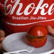 Polentowe włoskie burgery bezglutenowe