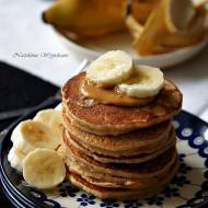 Bananowe placuszki z masłem orzechowym