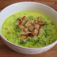 zupa ze świeżych ogórków