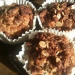Pełnoziarniste muffinki jabłkowo-orzechowe