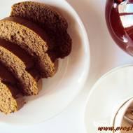 Ciasto arachidowe z karobem i miodem (bez glutenu)