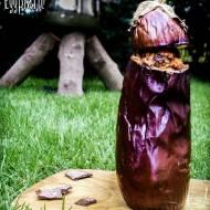 NADZIEWANY BAKŁAŻAN – DON'T STARVE – pieczony bakłażan z farszem grzybowo-warzywnym