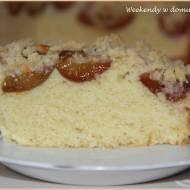 """Szybkie ciasto ze śliwkami i kruszonką oraz """"Poletko Pana Boga"""""""