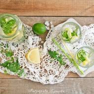 Orzeźwiający napój ze świeżego ogórka, z miętą i cytryną