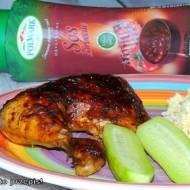 Kurczak zapiekany w sosie barbecue