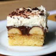 Ciasto na niedzielę – szybkie i łatwe #4 Ciasto z czekoladą i bananami