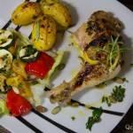 Kurczak z cytryną i rozmarynem