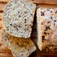 Chleb z soczewicą na zakwasie