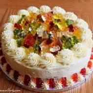 Czekoladowy tort dla dzieci