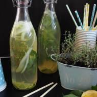 Lemoniada z ogórkiem i tymiankiem
