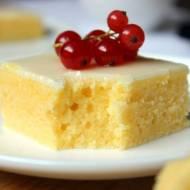 Ciasto na niedzielę – szybkie i łatwe #5 Brownie cytrynowe