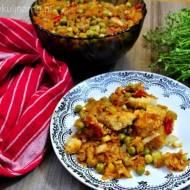 Ryba z warzywami a la po grecku