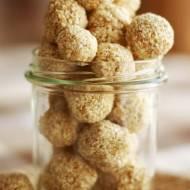 Zdrowe słodkości - domowe sezamki z dwóch składników