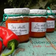 Domowy sos  chili, słodko - kwaśny