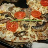 Kotlety schabowe a'la pizza