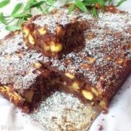 Leniwiec (czekoladowe ciasto z jabłkami)