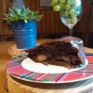 czekoladowe ciasto z gruszkami  II