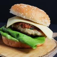 chicken burger z aioli, czyli domowym majonezem czosnkowym