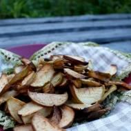 Jabłkowe chipsy domowe