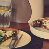 Tarta z kurkami i jarmużem / Chanterelle & kale tart