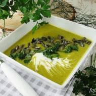 Zupa krem z cukinii i papryki