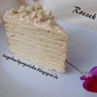 Tort Marcinek/ Tort Tysiąca warstw-  Roczek Bloga!