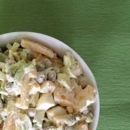 Sałatka z zielonego groszku