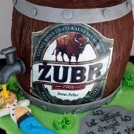 Tort beczka piwa