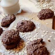 Ciasteczka czekoladowo - owsiane z dyni