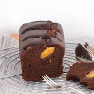 Ciasto czekoladowe z nektarynką