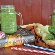 Zielony koktajl z wyraźną nutą kiwi