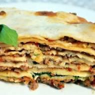 Lasagne z mięsem i szpinakiem / Lazania