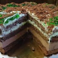 Tort Miętowy Szmaragdowe Oczko