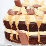 Ciasto Czekoladowe Twix