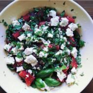 Sałatka arbuz & feta / Watermelon & feta salad