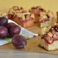 Ciasto z kruszonką z Ziemi Kłodzkiej - śliwkowe