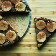 Wegańskie ciasto bardzo czekoladowe (bez pieczenia)